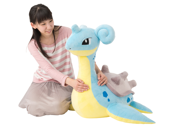 Looking to add some Pokémon flair to your home interior? Gigantic Lapras plushie is here to help