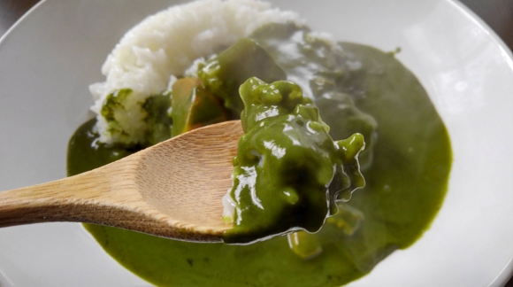 Is Japan's green tea curry worthy of the name or just another matcha pretender?【Taste test】