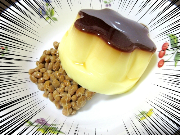 Custard pudding with natto fermented soybeans? We try the new dessert craze sweeping Japan