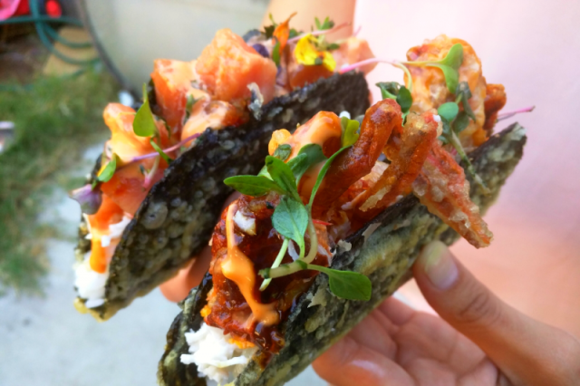Norigami Tacos combines sushi and tacos into one crunchy culinary coupling【Pics】