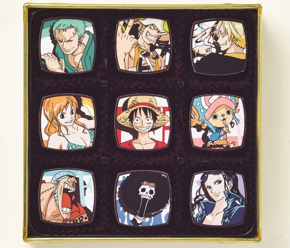 Bring a smile to your valentine with One Piece chocolates