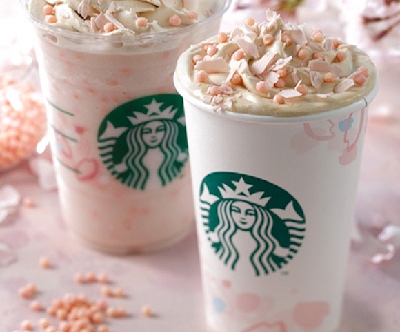 Starbucks Japan unveils new lineup of sakura beverages and drinkware for 2017