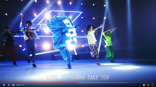 """Crazy"" new mascot for Kure City is an impressively good dancer with a slick TRF cover【Video】"