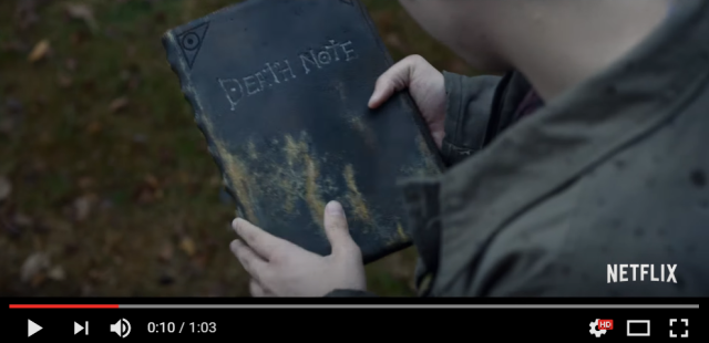 Netflix releases first trailer for its live-action American adaptation of anime Death Note【Video】