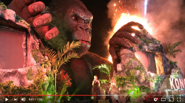 Kong: Skull Island premiere in Vietnam shows how they would fight the giant ape【Video】