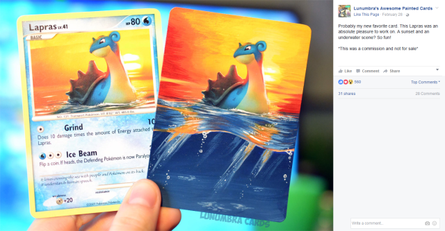 Artist gives new life to old Pokémon cards with gorgeously painted alters 【Pics】