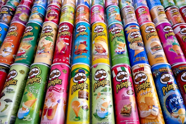 Amazing Pringles flavours exist in Japan