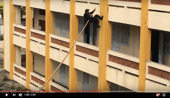 Vietnamese Special Forces show off real-life ninja skills【Video】