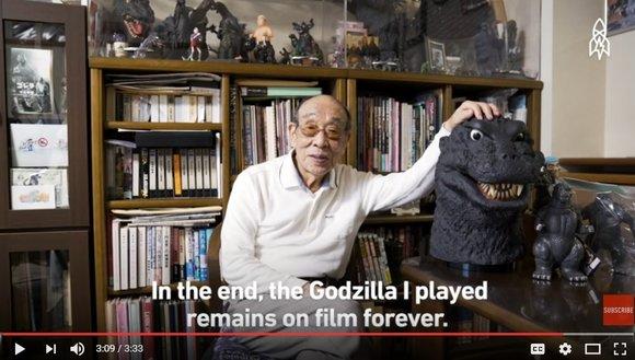 Godzilla speaks! Interview with 12-movie veteran kaiju actor Haruo Nakajima【Video】