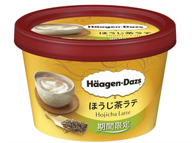 Häagen-Dazs Japan brings out new limited-edition Hojicha Latte roasted green tea ice cream