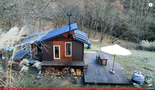 Tiny house in Japanese woods is the getaway we'd love to escape to【Video】