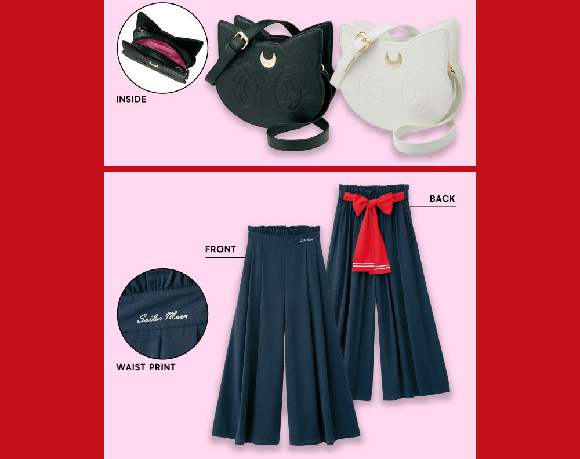 New Sailor Moon fashion lineup is stylish, cute, and, shockingly, actually affordable!【Photos】