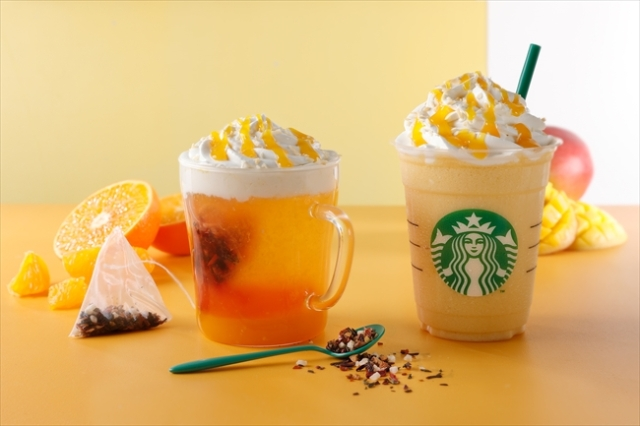 Starbucks goes to the tropics for new Frappuccino release in Japan