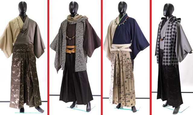 Kyoto-based kimono company releases stylish new looks for men in their spring collection