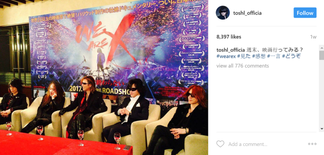 The return of X Japan to Japan, completed with their first autograph session in 30 years