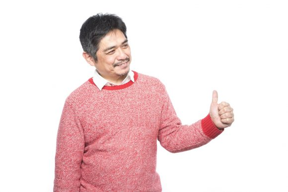 Japanese praiseful papa's positivity is purely precious, or possibly evil genius
