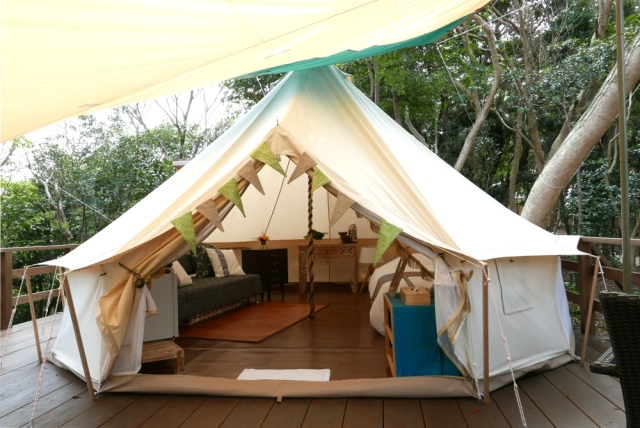 Glamping Okinawan style: a unique way to get in touch with nature in Japan【Pics】
