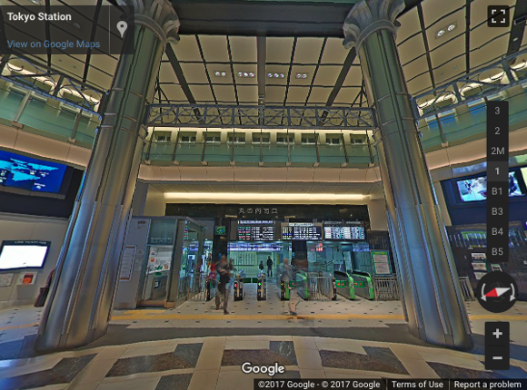 Navigate your way through Japan's busiest train stations with Google Street View