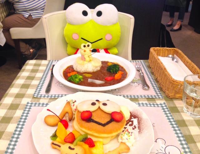 Sanrio's Kero Kero Keroppi hops into restaurant biz with character cafe in Japan! 【Photos】