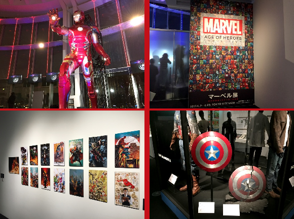 Marvel Age of Heroes Exhibition opens in Tokyo, and we stop by to experience the heroic display