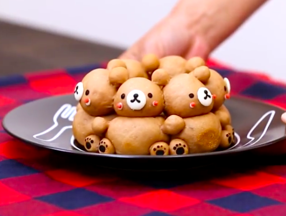 Epic food fail sees adorable Rilakkuma character bread turn into a terrifying monstrosity