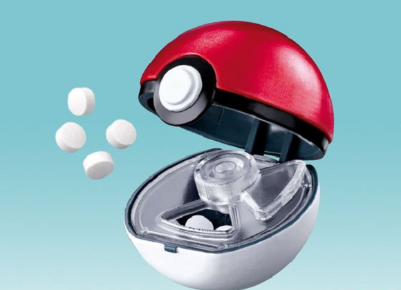 Poké Ball breath mint holder series will keep you from being a smelly Pokémon otaku