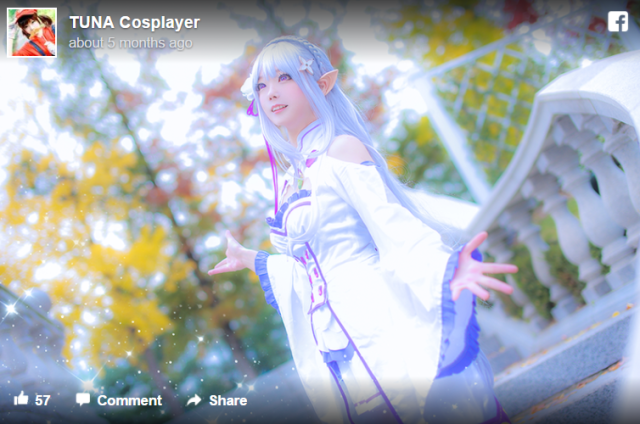 Amazing Korean cosplayer Tuna is the cosplay catch of the day【Photos】