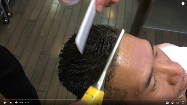 Watch the dying art of the punch perm, a quintessential Japanese hairstyle, in Mr. Sato's new 'do