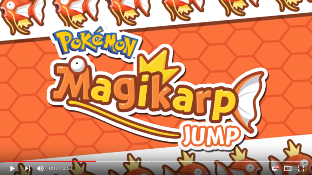 Pokémon Magikarp Jump Game Launches for iOS, Android Devices
