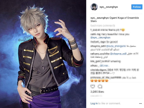 Beautiful Korean cosplayer enthrals the Internet with gender-bending photo collection 【Photos】