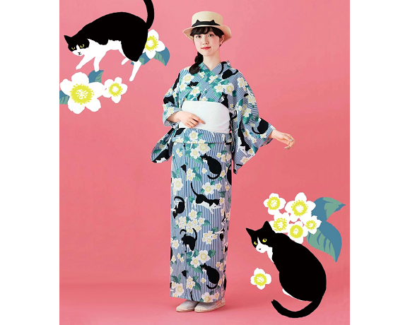 Cat kimonos from Japan will help keep you cool and cute this summer【Photos】