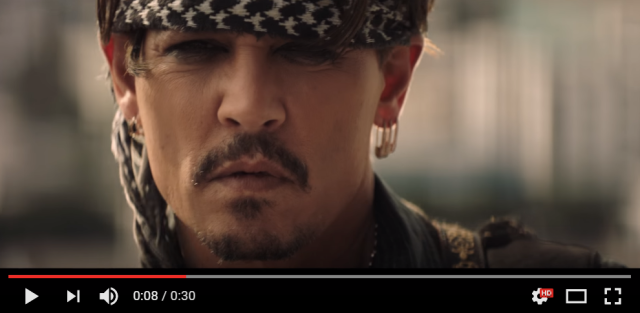Johnny Depp would like you to crack open an Asahi Super Dry in new Japanese beer ad【Video】