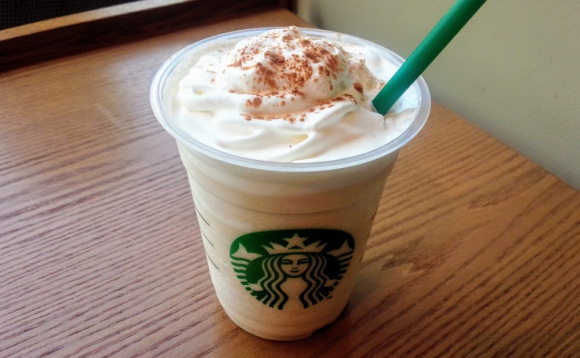 Bring on the spicy chill with our recommended customized Starbucks drink — chai Frappuccino!
