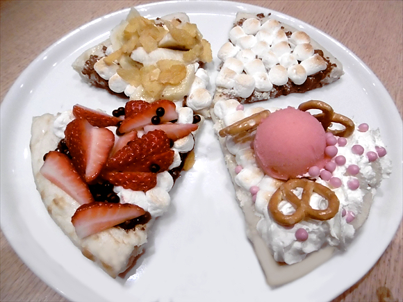 Make your own customized dessert pizza at Max Brenner's first ever Chocolate Pizza Bar! 【Pics】