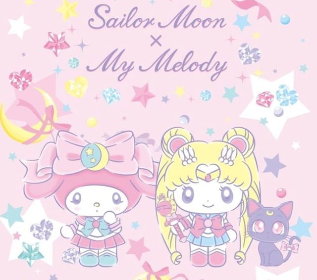 Sailor Moon invites Sanrio character My Melody in on the fun for 25th anniversary celebration