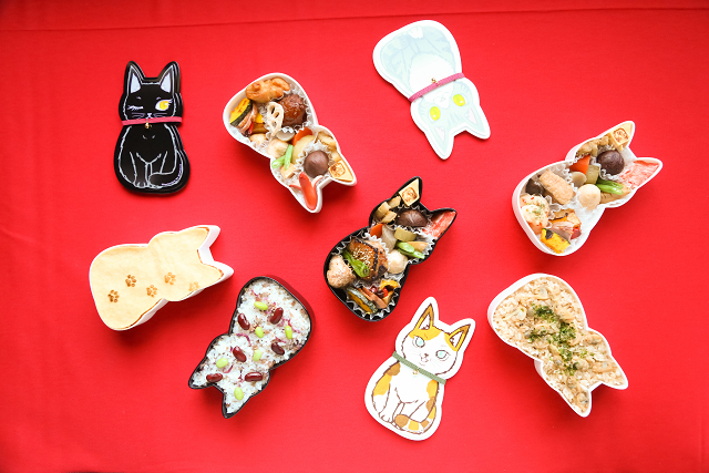 Japan's cat-shaped bento boxes are here to make lunchtime delicious and adorable【Photos】