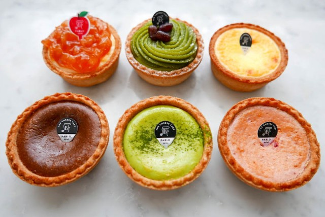 Mini Japanese cheese tarts from Pablo are the sweets we've all been searching for
