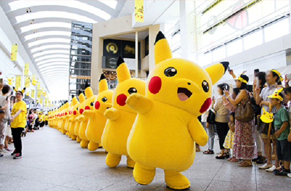 Sounds like this year's Pikachu Outbreak in Yokohama is going to have other Pokémon species too!