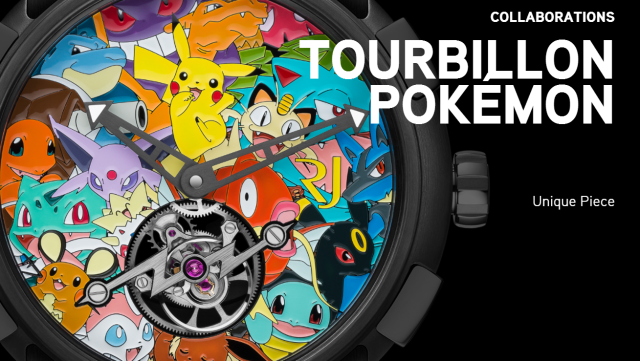 Shockingly expensive Pokémon watch costs more than most people make in several years