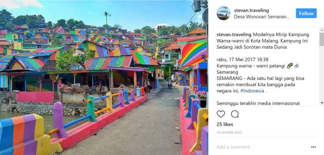 Indonesian community paints the town red…orange, yellow, green, blue and purple【Photos】