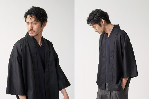 Modern samurai coats from Japan keep you cool in summer with new styles and fabrics