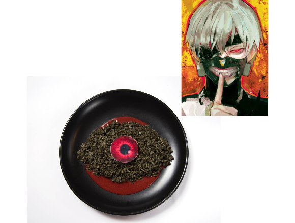 Tokyo Ghoul anime cafe opening in Tokyo, to the joy of ghoulish gourmands