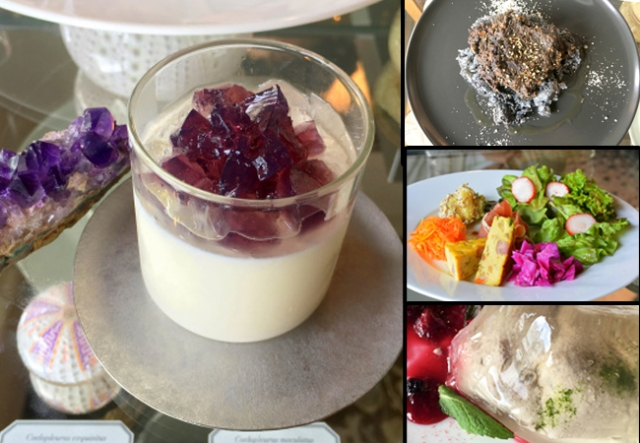 Kyoto cafe shows us the beauty of minerals through its breathtaking dishes