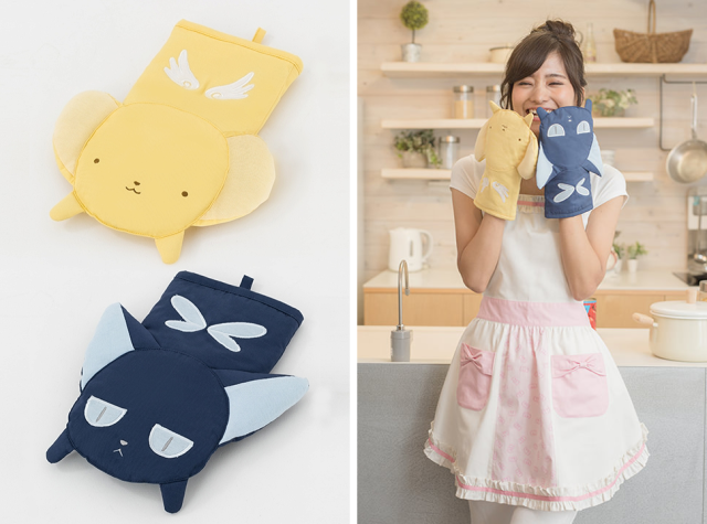 It's Cardcaptor Sakura in the kitchen with new anime-themed oven mitts and aprons【Photos】