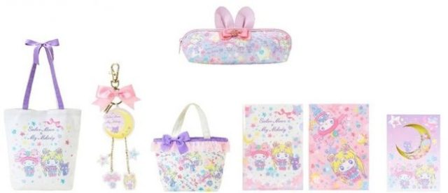 Sanrio and Sailor Moon finally reveal their lineup of My Melody collab goods!