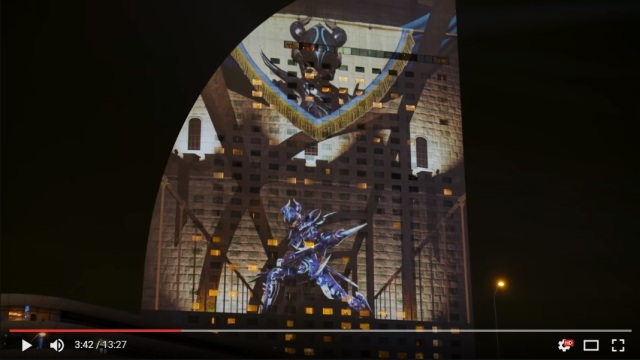 Incredible Final Fantasy XIV building-projection in Yokohama will make your jaw drop 【Video】