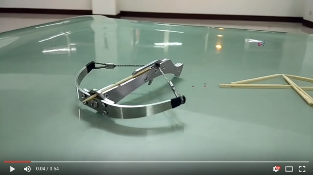 New toothpick crossbow toy from China is so dangerous, it's already banned 【Video】