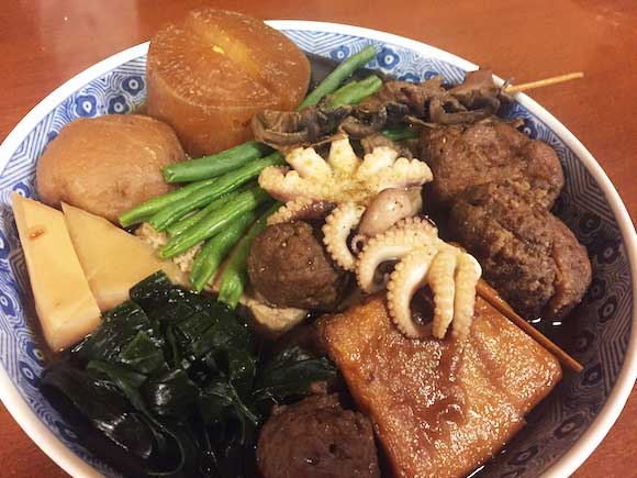 We visited an oden store in Shinbashi frequented by the late Kim Jong-nam