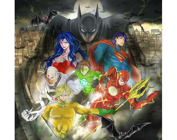 Wonder Woman and the rest of the Justice League get manga makeover for new series in Japan