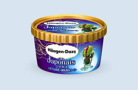 Häagen-Dazs Japan releases Japonais Double Matcha Condensed Milk and Brown Sugar Syrup ice cream